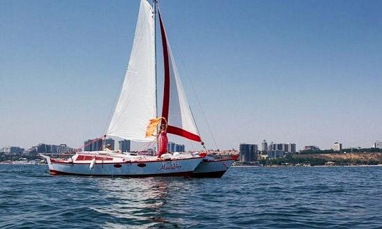 'aladdin' Sailing Catamaran Charter In Odessa