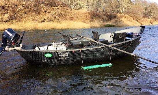 Guided Drift Boat Fishing On Willamette Valley