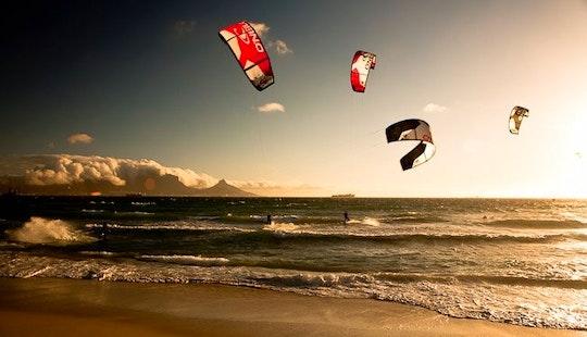 Kite Surfing In Cape Town