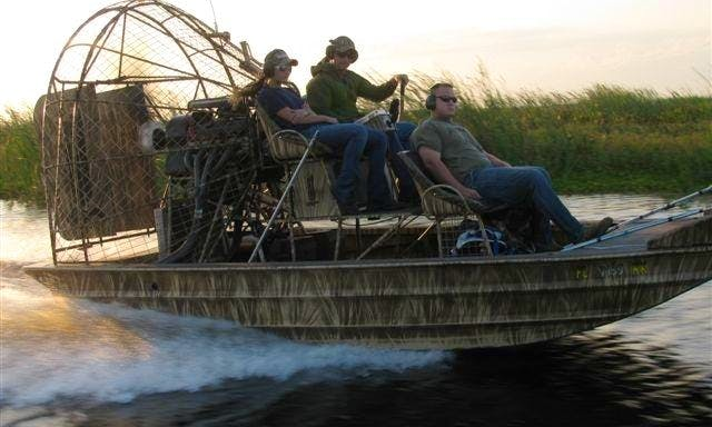 Airboat Charter in Southwest Ranches, Florida