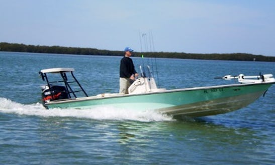 21' Guided Fishing Boat In Tampa, Florida