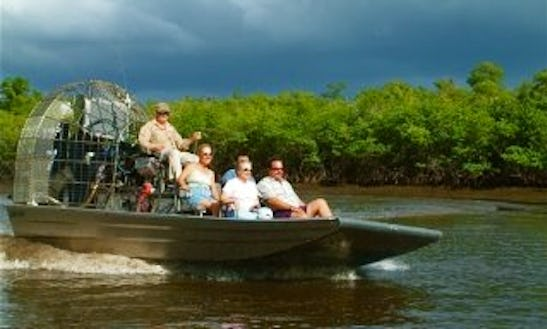 Airboat Charter In Ochopee, Florida
