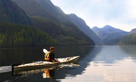 Single Kayak Rental In Comox-strathcona J, Canada
