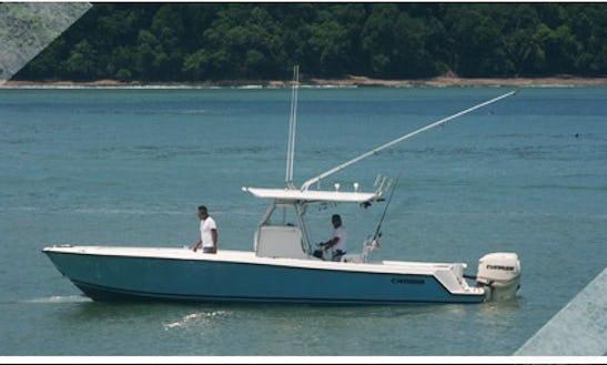 Guided Inshore Fishing Boat In Herradura