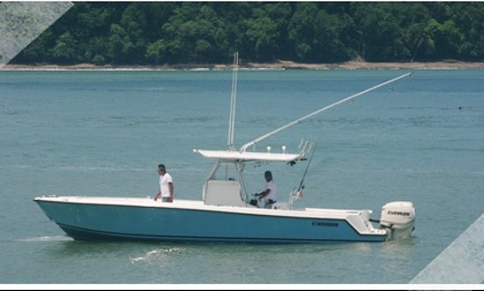 Guided Inshore Fishing Boat In Herradura