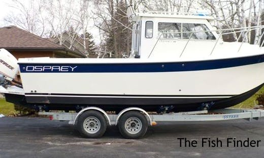 24' Fishing Boat Fishing Charter in Carrying Place, Canada