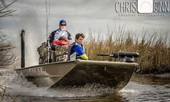 Enjoy Fishing In Chalmette, Louisiana With Captain Marty