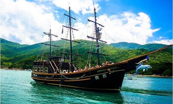 78' Sailing Pirate Boat In Florianópolis