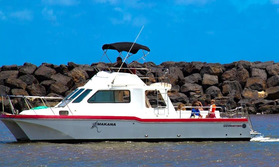 32ft Makana Lightning Catamaran in Waimea, Hawaii