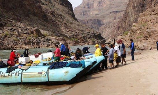 Grand Canyon Rafting Tour From Las Vegas