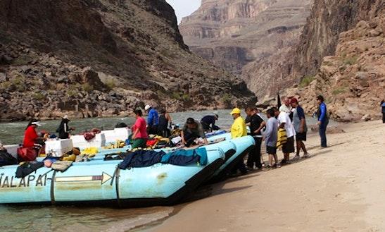 Grand Canyon Rafting Tour From Las Vegas