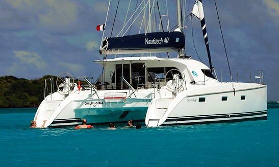 Nautitech 40 Sailing Catamaran Charter In Le Marin