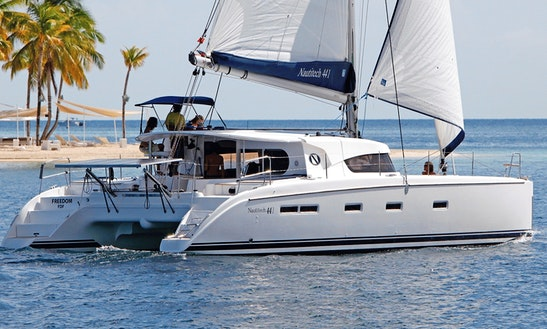 Nautitech 441 Sailing Catamaran Charter In Le Marin