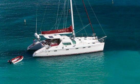 Privilege 495 Sailing Catamaran Charter In Le Marin
