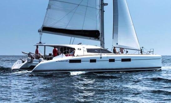 Nautitech 482 Sailing Catamaran Charter In Le Marin