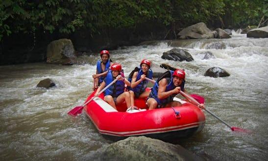 Rafting In Banjarangkan, Indonesia