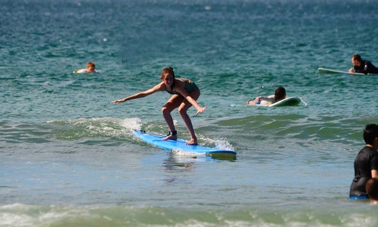 Surfing Lesson In Tamarindo