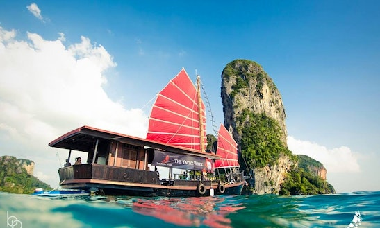 Siamese Junk Krabi Sunset Cruises