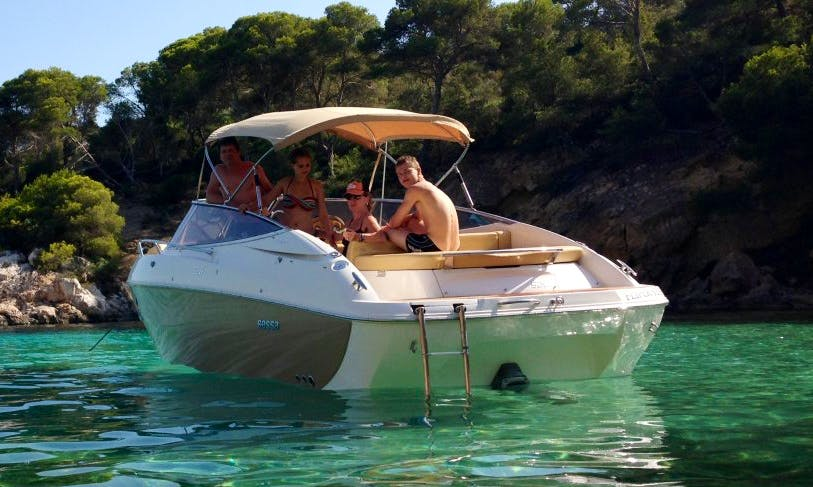 Sessa S26 Boat Charter in Balearic Islands