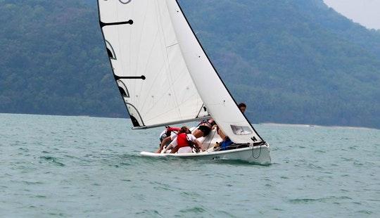 25' Platu Keelboat Rental In Phuket, Thailand