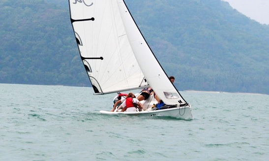 25' Platu Keelboat Rental In Phuket, Thailand