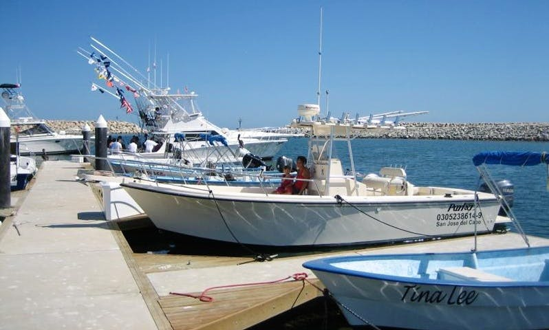 Great 25' Fishing Charter in San José del Cabo, Mexico For Up To 6 Persons