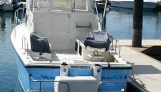 32' Fishing Charter In San José Del Cabo, Mexico