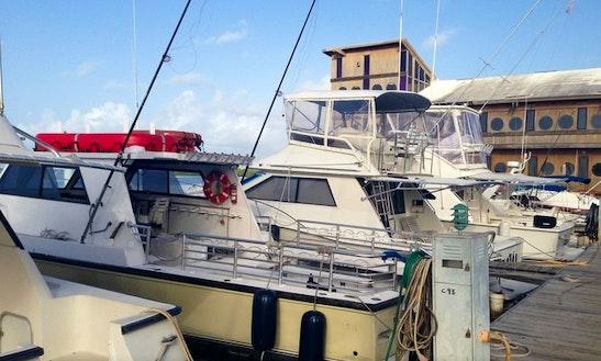 Dive Boat In Guanica