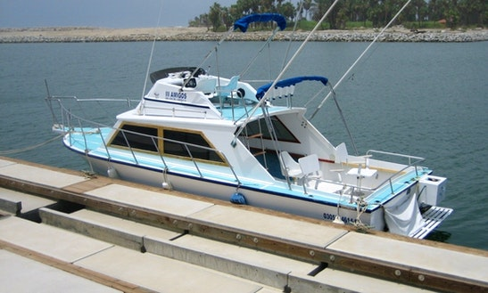 30' Fishing Charter In San José Del Cabo, Mexico Up To 5 People