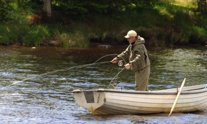 Guided Fly Fishing In Dalry