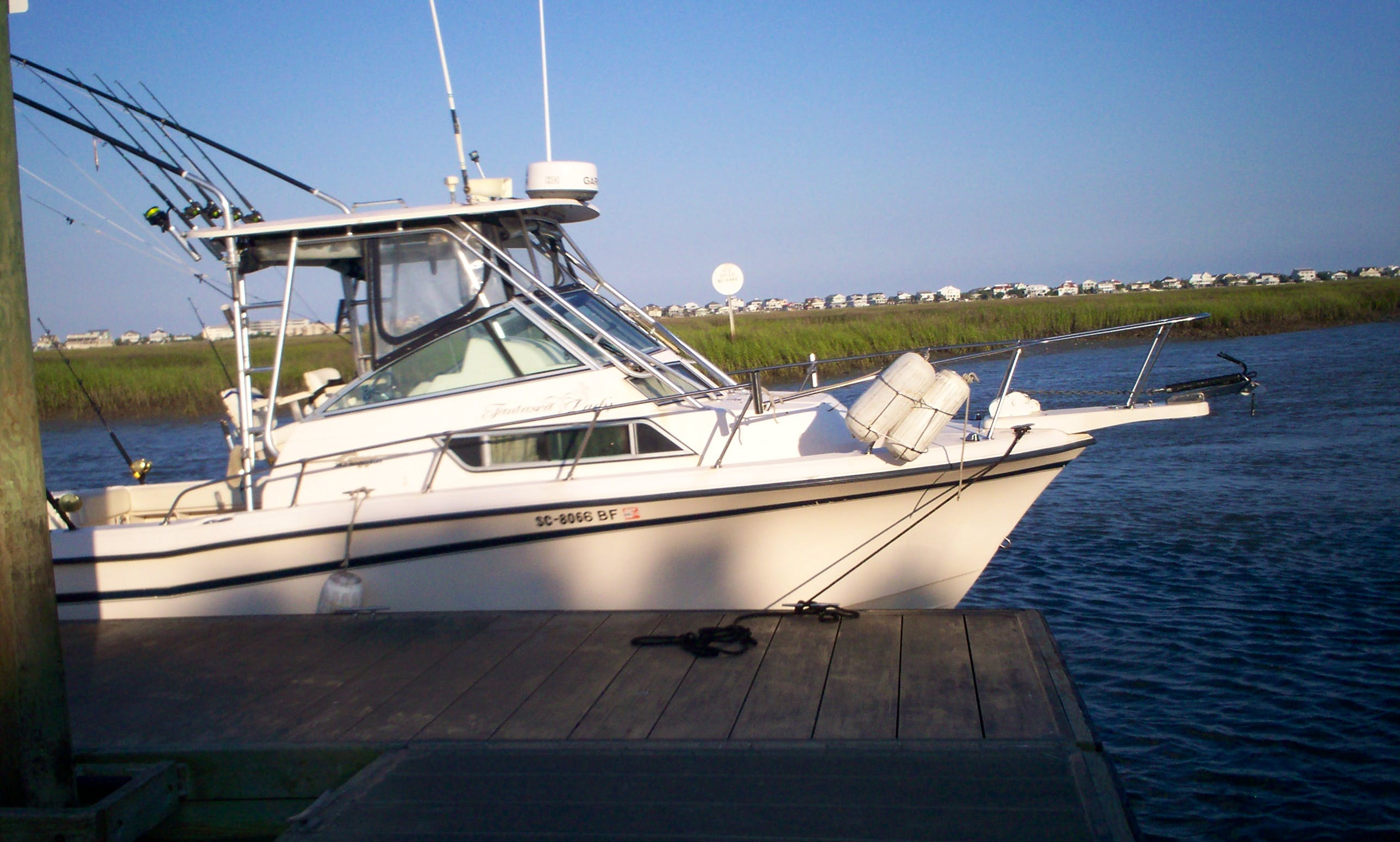 "28ft ""Grady White"" Cuddy Cabin Boat Fishing Charter in Myrtle Beach, South Carolina"