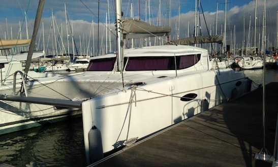 Charter Fountaine Pajot Mahe 36 Sailing Catamaran In Ajaccio, France