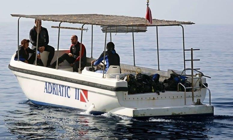 Dive Boat In Orebić