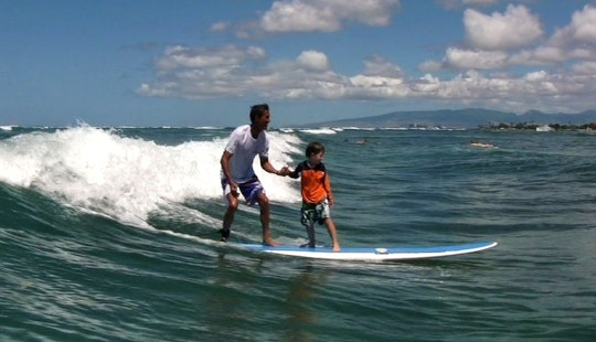 Surfing Lessons In Honolulu