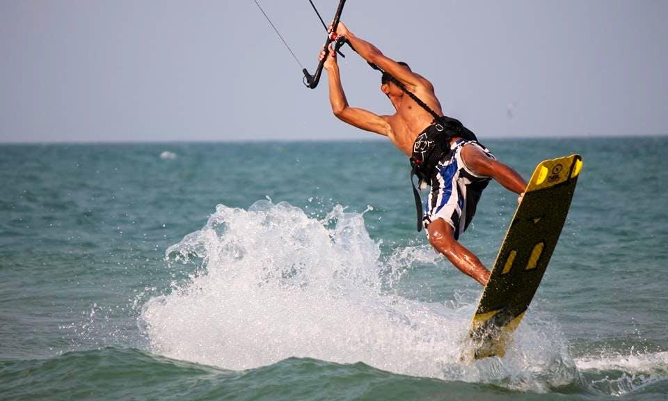 Kitesurfing in Tambon Hua Hin, Thailand