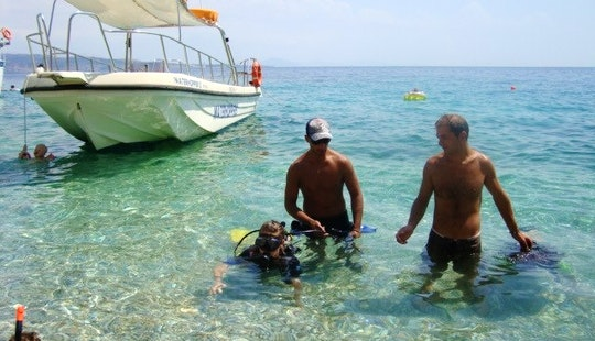 Passenger Boat Diving Charter In Kerkira, Greece