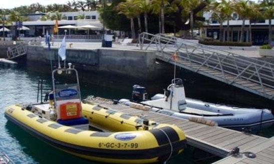 Dive Boat In Puerto Calero
