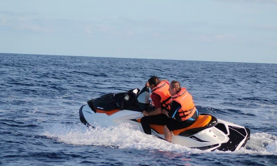 Enjoy Vieques, Puerto Rico On Jet Ski