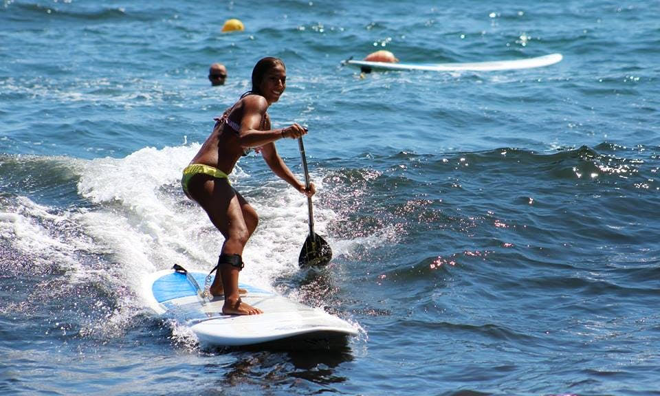 SUP Surf In Greece
