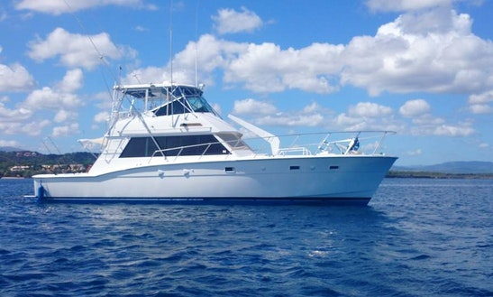 52' Hatteras Fishing Charter In Sosua, Dominican Republic