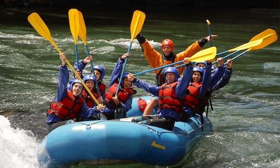 Experience Thrilling Rafting Trips In San Carlos De Bariloche, Argentina
