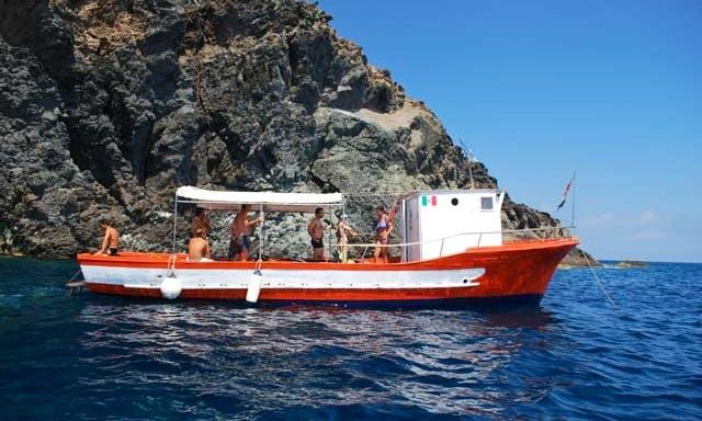 Passenger Boat Diving Charter in Pantelleria, Italy