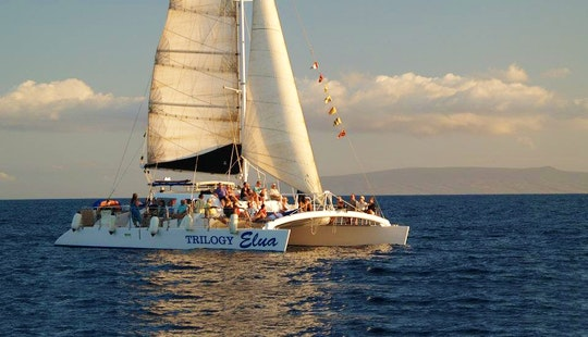Enjoy Lahaina, Hawaii On 55ft 'trilogy Elua' Sailing Catamaran