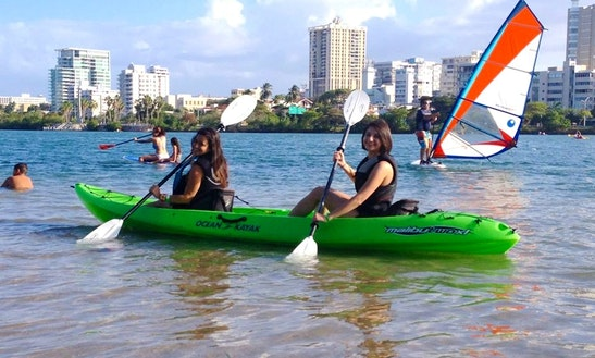 Double Kayak Rental In San Juan, Puerto Rico