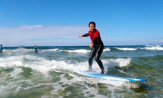 Surfing  In Onna-son