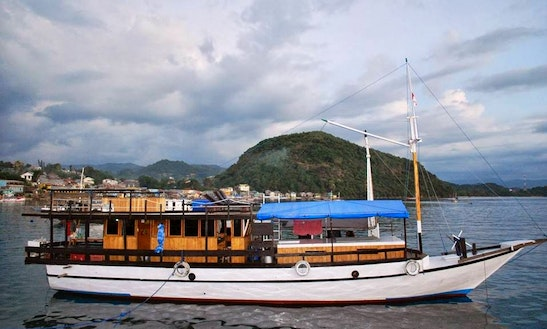 Passenger Boat  In Flores Indonesia