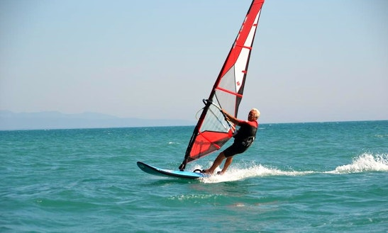 Windsurfing Rental In Cecina, Italy