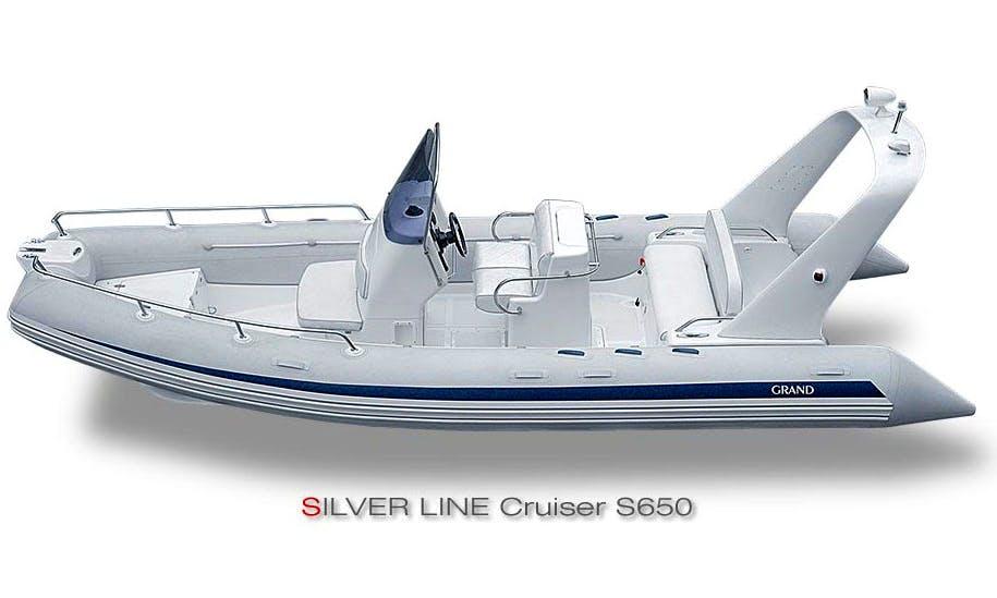Silver 550 RIB Charter in Ferrara