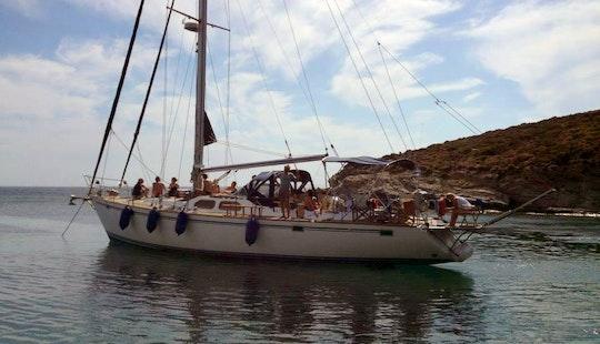 Sailing Charter In Chios, Greece On 66ft 'ursa Major' Atlantic Sailing Yacht