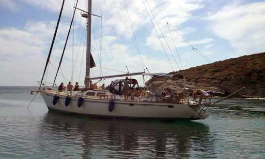 Sailing Charter In Chios, Greece On 66ft 'ursa Major' Atlantic Sailing Yacht